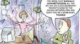 The plight of school secretaries in Ireland
