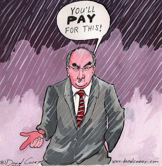 Phil Hogan and the torrential rain Blog