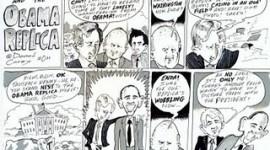 Enda & the Obama Replica