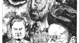 Midlands Arts Review Cartoon