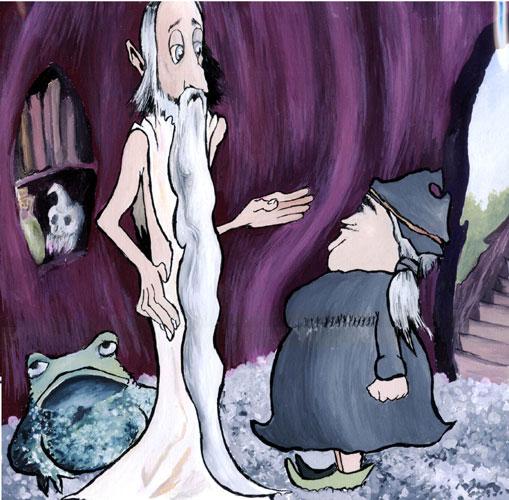 Druid inside home
