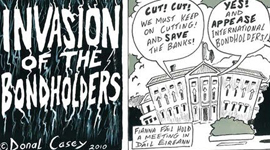 Invasion of bondholders