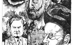 JP Donleavy, Evelyn Waugh & James Joyce