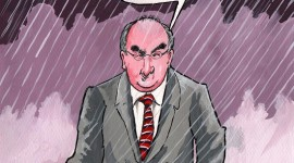Phil Hogan & the torrential rain