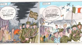 1916 Rising Centenary Cartoon